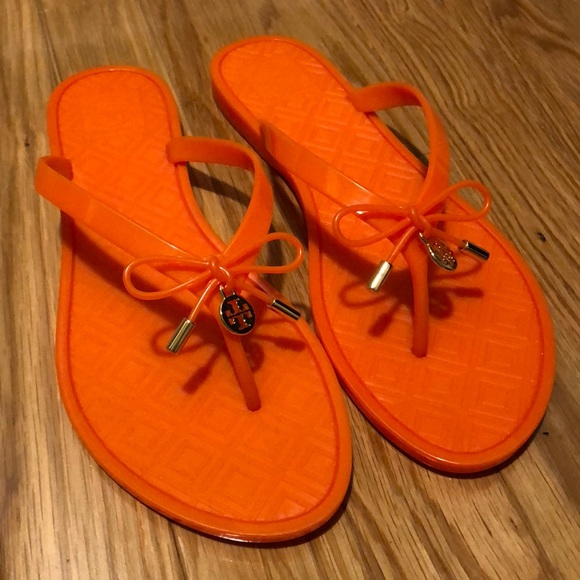 4d519adcf7d7 Tory Burch Jelly Bow Thong Sandals